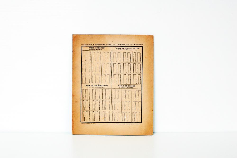 Ancien prot ge cahier ket shop - Protege cahier avec rabat ...