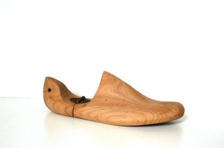 Ancienne forme à chaussure