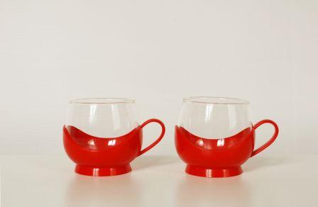 Tasses en duo